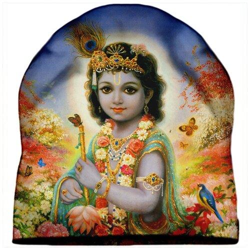 Шапка мужская Индийская богиня Кришна