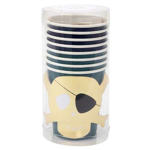 Стаканы Пираты Meri Meri арт. 186622 стаканы пастельные высокие meri meri