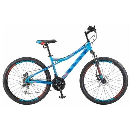 велосипед stels navigator 620 md 26 v010 19 тёмно синий Горный (MTB) велосипед STELS Navigator 510 MD 26 V010 (2019) 16 синий (требует финальной сборки)