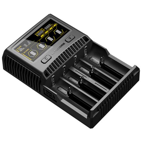 Фото - Зарядное устройство Nitecore SC4 зарядное устройство nitecore lc10