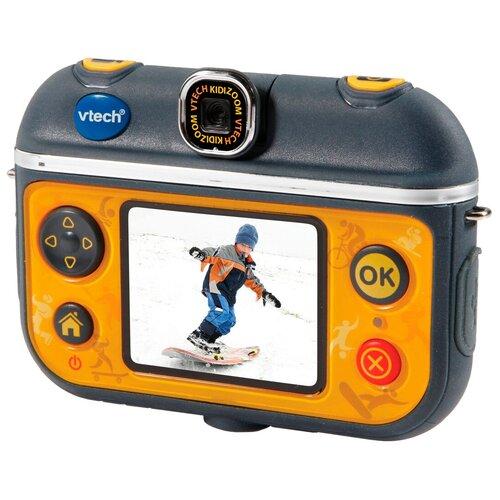 Экшн-камера VTech Action Cam 180° черный/желтый