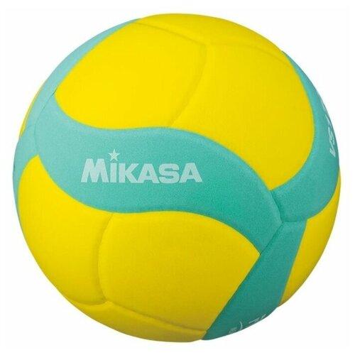 Волейбольный мяч Mikasa VS170W желтый/бирюзовый