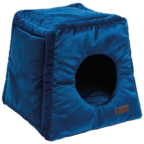 Лежак Домино (40*40*40) синий