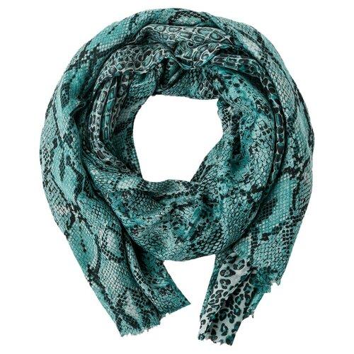 Шарф женский Finn Flare, цвет: темно-зеленый A20-11411_511, размер: Единый шарф женский finn flare цвет молочный a20 11147 711 размер единый