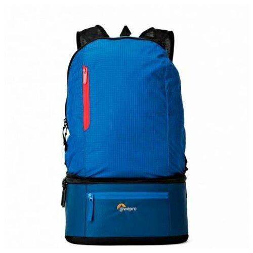 Фото - Рюкзак для фотокамеры Lowepro Passport Duo blue printio рюкзак 3d абстракция асфальт