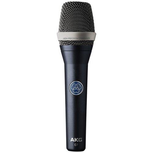 Микрофон AKG C7, matte grayish blue