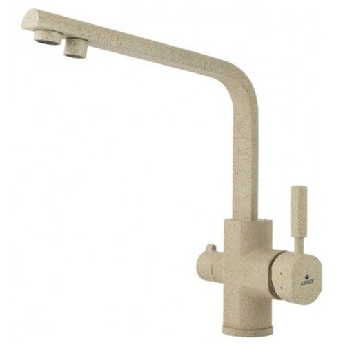 Смеситель для кухни под фильтр Kaiser Decor 40144-16 Sand (цв.302)