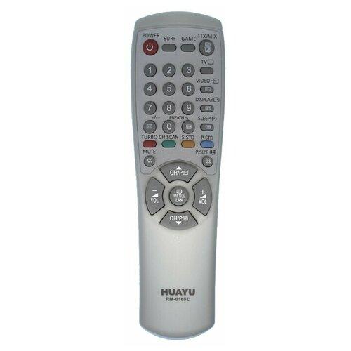 Фото - Пульт ДУ Huayu RM-016FC для телевизоров Samsung, серый пульт ду huayu для samsung ah59 02147k