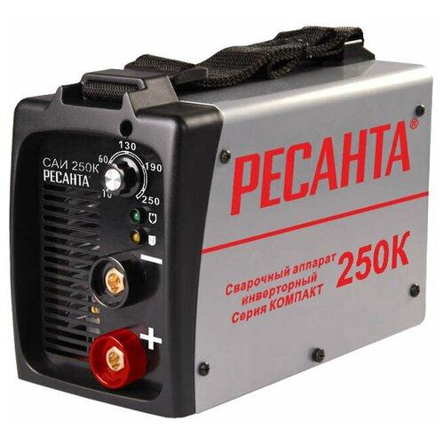 Сварочный аппарат инверторного типа РЕСАНТА САИ-250К MMA сварочный аппарат инверторного типа ресанта саи 190 краги mma