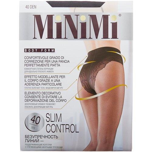 Фото - Колготки MiNiMi Slim Control, 40 den, размер 4-L, fumo (серый) колготки minimi vittoria 20 den размер 4 l fumo серый