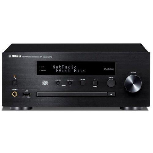 CD-ресивер YAMAHA CRX-N470 черный