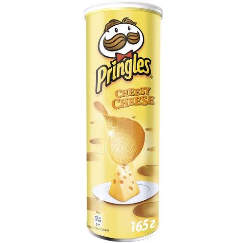 Чипсы Pringles картофельные Cheesy Cheese, 165 г чипсы pringles картофельные spring onion 165 г