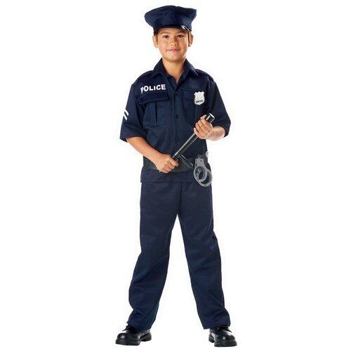 Фото - Костюм California Costumes Полиция 00343, синий, размер L (10-12 лет) костюм авангард 001160 l синий