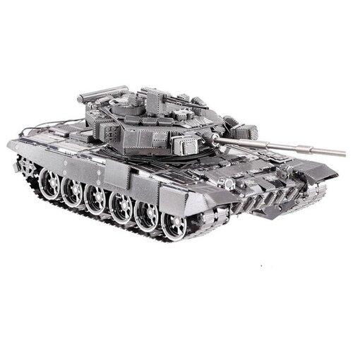 Сборная модель Metal Earth Танк Т-90А, Масштаб 1:160, ICX047