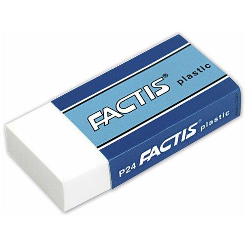 Купить FACTIS Ластик Plastic P 24 белый, Ластики