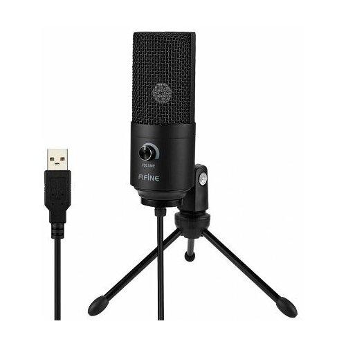 Конденсаторный USB микрофон Fifine K669B Black