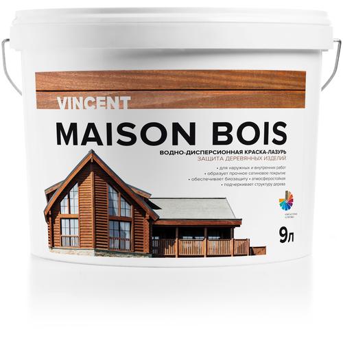 Фото - Краска акриловая VINCENT Maison en Bois влагостойкая матовая белый 9 л vincent dubois sujetos en la burocracia