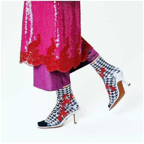 Носки для девушек Hysteria Mathilde Ankle - Lobster Houndstooth 39-41