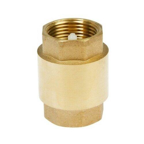 Фото - Обратный клапан пружинный CTM CBCV0 муфтовый (ВР/ВР), латунь Ду 20 (3/4) запорный клапан зубр ширефит 51571 20 муфтовый вр вр ду 20 3 4