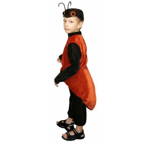 Костюм Маскарад у Алисы Муравей, коричневый, размер 32(128) костюм маскарад у алисы восточный принц коричневый размер 32 128