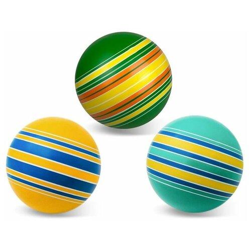 Мяч детский 15 см серия полосатики, Мячи-Чебоксары, Р3-150/По