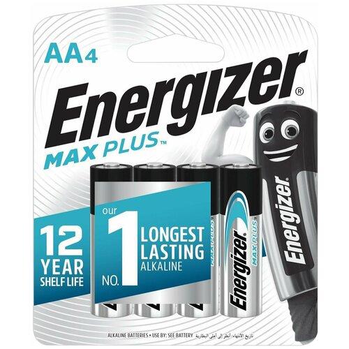 Фото - Батарейка Energizer Max Plus АА, 4 шт батарейка energizer ultimate lithium aa 4 шт