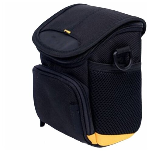 Чехол-бокс MyPads TC-1228 для фотоаппарата Nikon Coolpix S3700/S5200/S5300 из высококачественного материала черного цвета