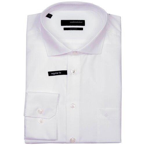 Рубашка Seidensticker размер 43 белый