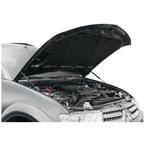 Упоры капота АвтоУпор (арт. UMIL20011) MITSUBISHI L-200 2006-2014/Pajero Sport II 2008-2015 газовые упоры капота автоупор для jeep renegade 2014 2018 2 шт ujeeren011