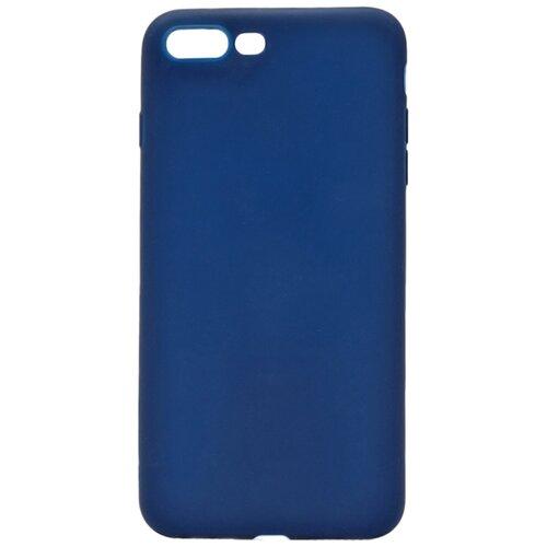 Чехол - накладка Soft Touch для Apple iPhone 8 Plus / 7 Plus голубой аксессуар чехол neypo soft touch для apple iphone 8 plus 7 plus black st02111