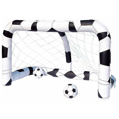 Надувные футбольные ворота, 213 х 117 х 125 см + два мяча, BestWay, от 3 лет