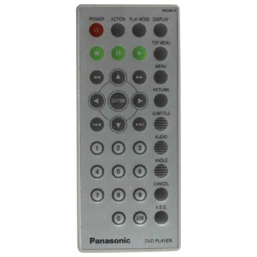 Фото - Пульт VEQ2414 DVD для видеотехники PANASONIC пульт ду panasonic eur 7722x20 universal dvd vhs system