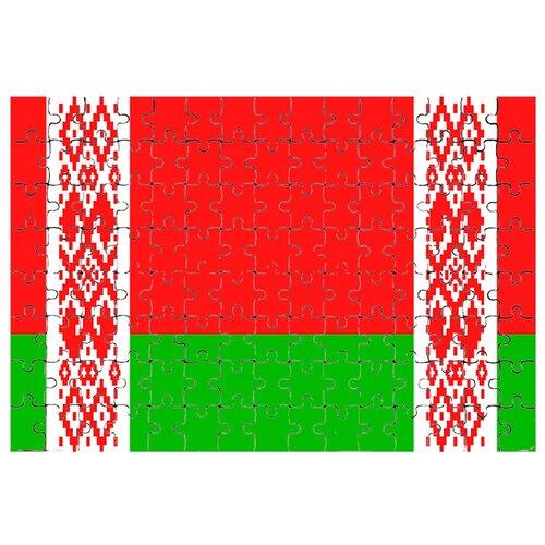 Магнитный пазл Флаг Белоруссии