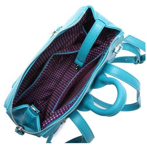 Женский рюкзак из экокожи, цвет бирюзовый (арт. DS-980/2)