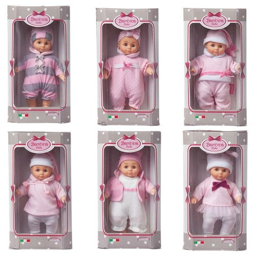 Фото - Кукла DIMIAN Bambina Bebe Пупс 20 см, 6 видов в коллекции dimian