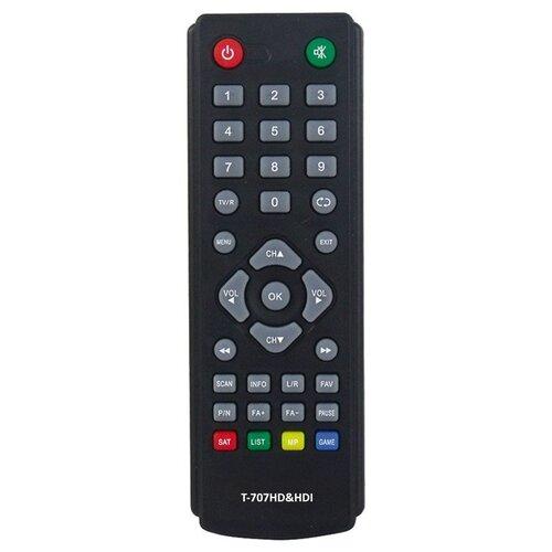 Фото - HUAYU Пульт ДУ HUAYU малый для Lumax DVB-T2/C приемников, приставок, ресиверов (HOB818/T-303SD) пульт huayu skytech 57g dvb t для dvb ресиверов goldmaster