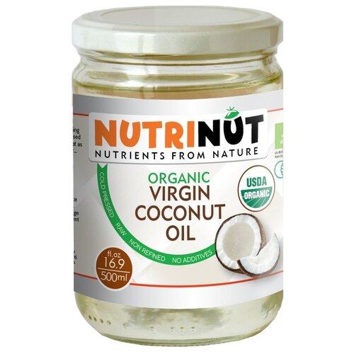 Фото - NUTRINUT, кокосовое масло organic virgin coconut oil. Пищевое 500 мл. масло кокосовое для тела extra premium virgin coconut oil масло 500мл