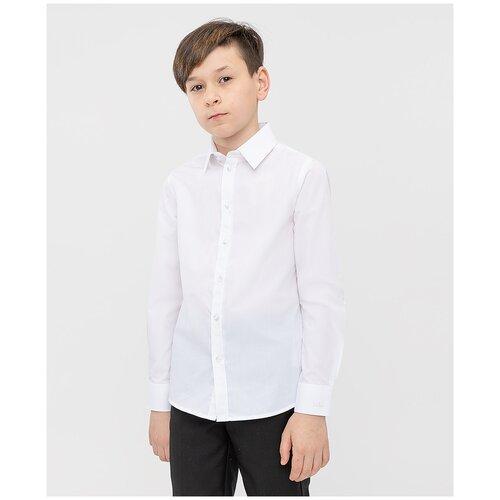 Рубашка Button Blue размер 140, 0200 белый