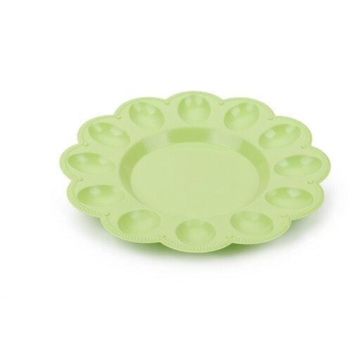 Тарелка для яиц Berossi, цвет салатовый