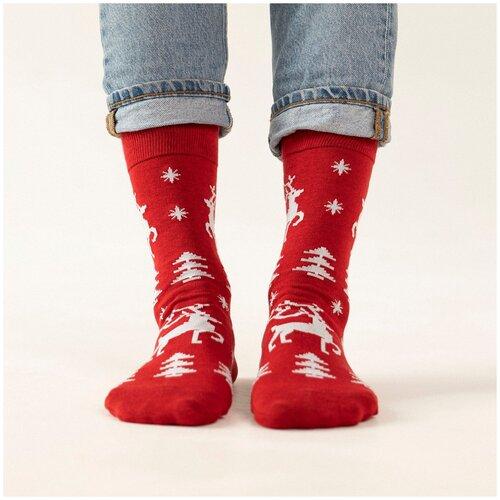 Носки unisex St. Friday Socks гордый олень, размер 38-41