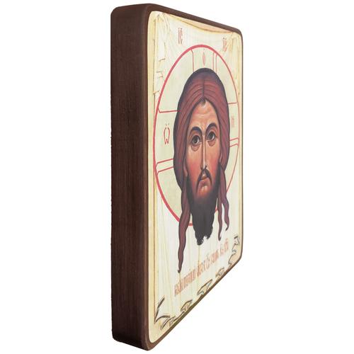 Икона Спас Нерукотворный из храма в Перово, размер 19 х 27 см
