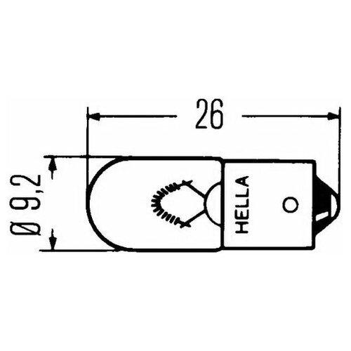 Лампа накаливания Hella 8GP 002 067-061