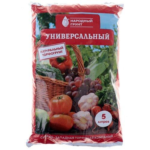 Грунт Универсальный Народный грунт. 5 л