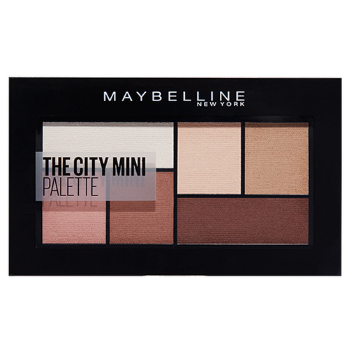 Maybelline New York Палетка теней для век The city mini 480 matte about town absolute new york палетка хайлайтеров glow in the city new york glow