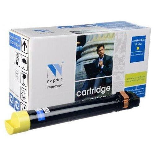 NV-Print Картридж NV-Print 106R01445 для Xerox Phaser 7500N Phaser 7500DN Phaser 7500DT Phaser 7500DX 17800 Желтый