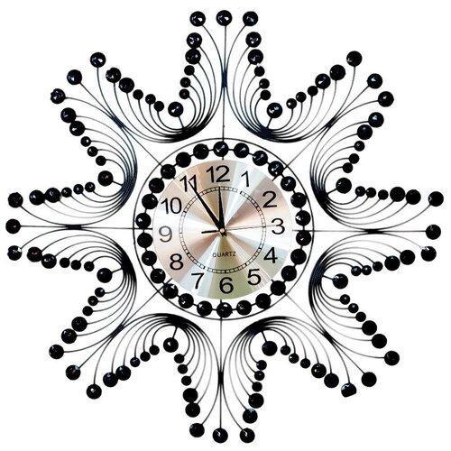 Часы настенные 70 см черные