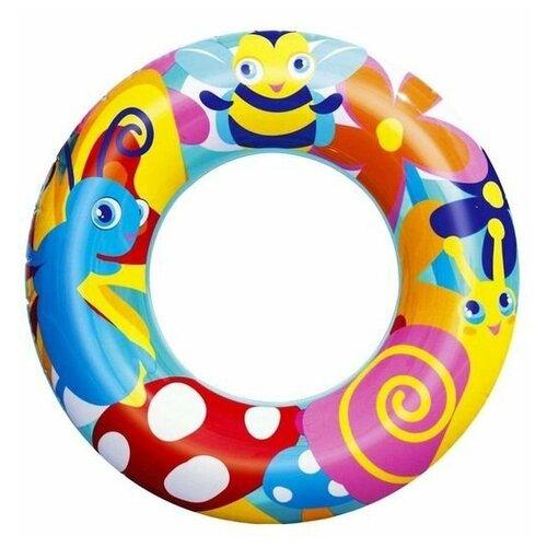 Фото - Надувной круг Насекомые, 56 см, от 3 до 6 лет, BestWay круг надувной bestway 36057 76 см