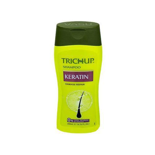 Купить Шампунь с кератином для восстановления волос Тричуп Keratin Shampoo Trichup 200 мл.