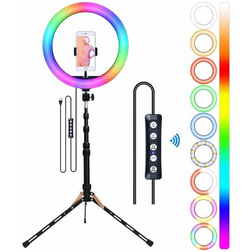 Фото - Кольцевая лампа OKIRA LED RING MJ 33 RGB кольцевая лампа luazon aks 06 white 4090260
