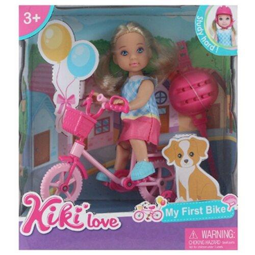 Фото - Игровой набор На прогулке, в компл.,кукла 12см, предм. 2шт. Shantoy Gepay 88006 кукла наша игрушка на прогулке 15 см лошадка
